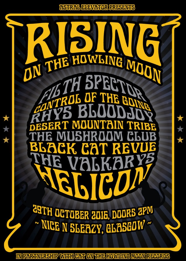 Astral Elevator presents: Rising on the Howling Moon