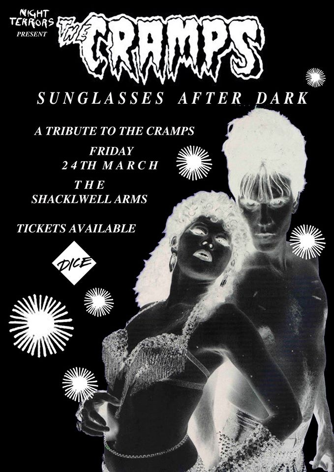Sunglasses After Dark: The Cramps Special