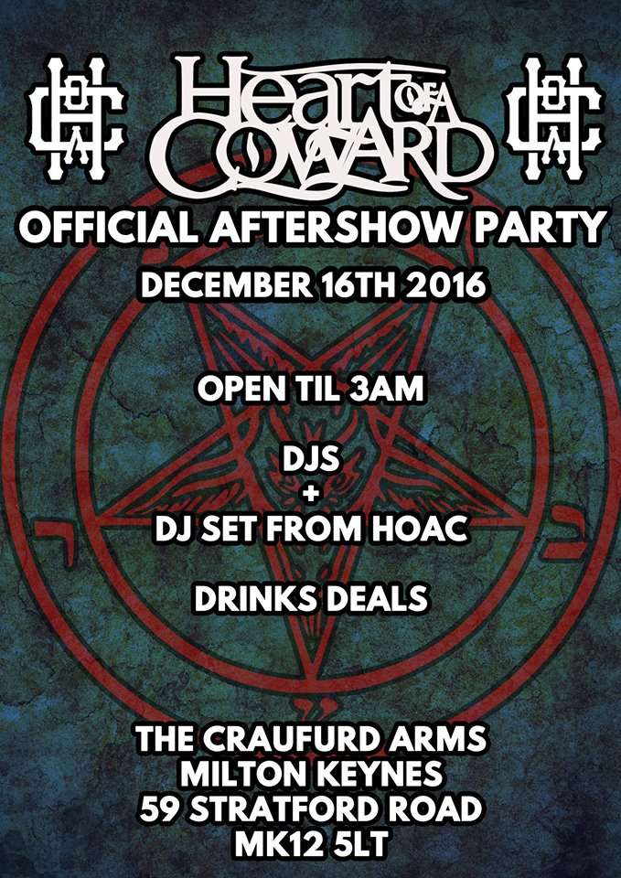 Heart Of A Coward Afterparty!