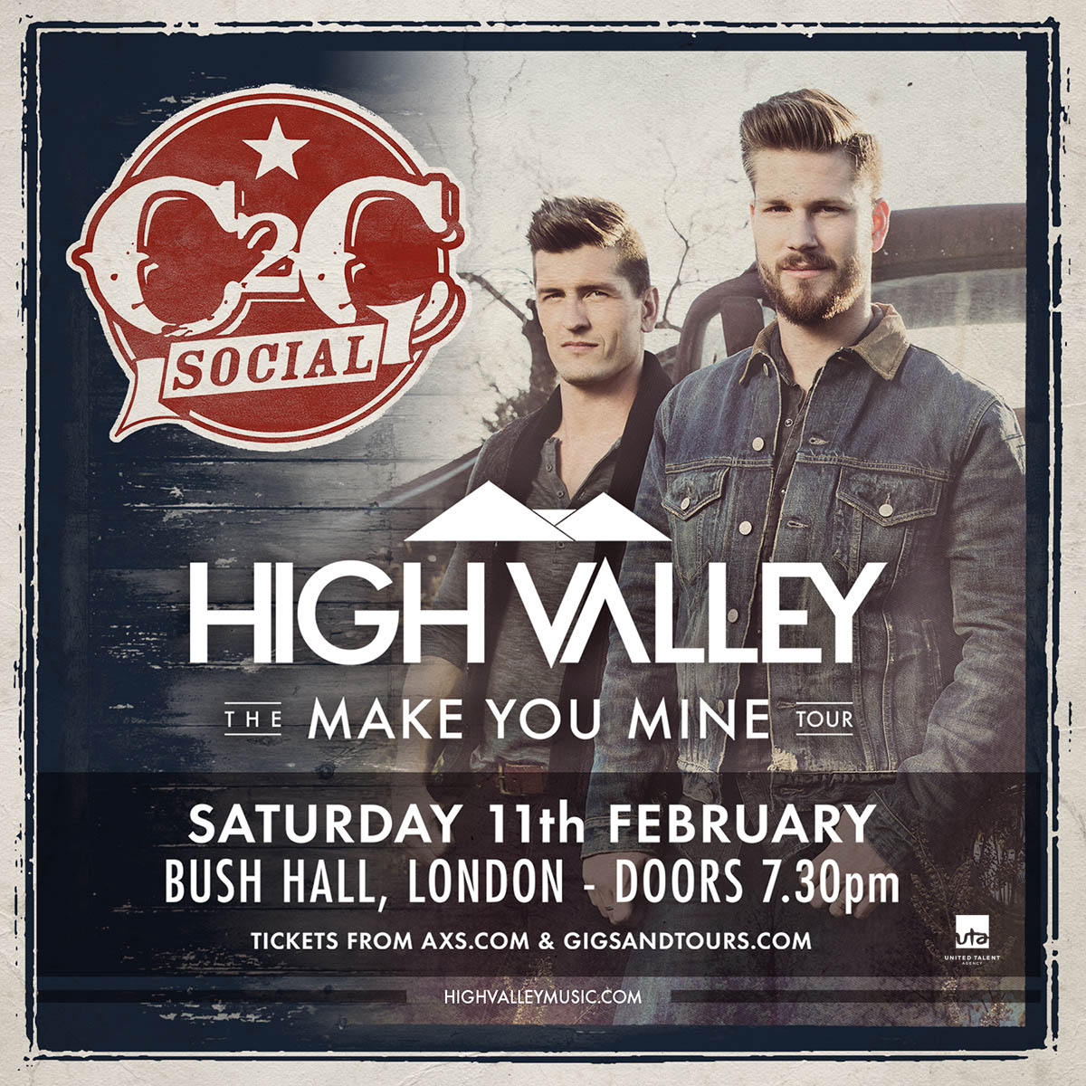 C2C Social featuring High Valley