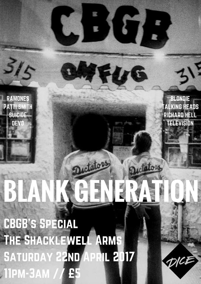 Blank Generation: CBGB Special