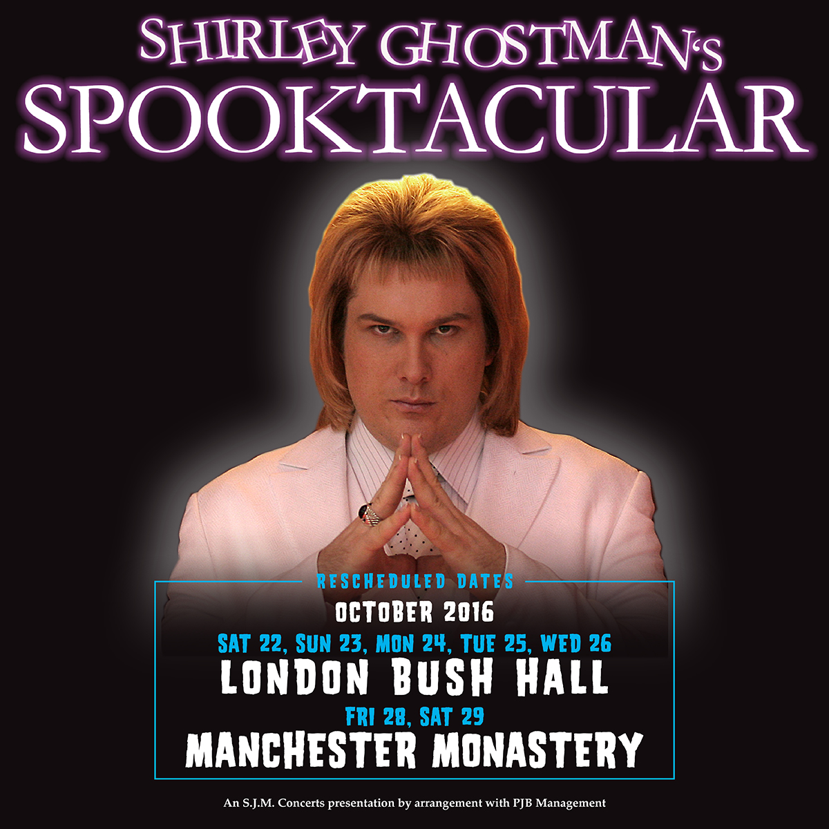 The Return of SHIRLEY GHOSTMAN 'Spooktacular' Not On-Ice