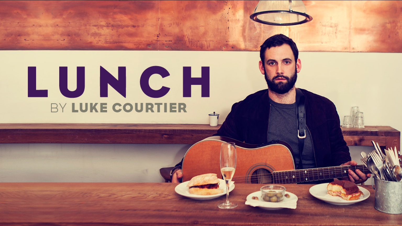 DOUBLE BILL: LUKE COURTIER: LUNCH & ROB CARTER IS CHRISTOPHER BLISS