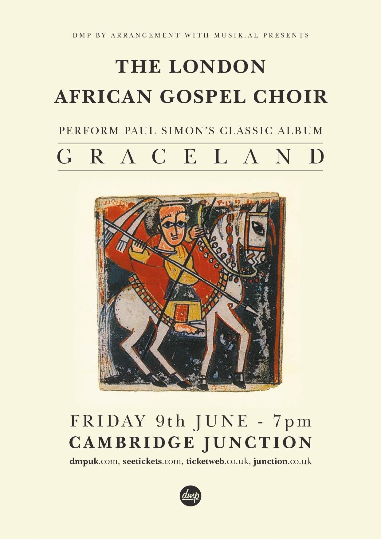 The London African Gospel Choir Perform Paul Simon's Classic Album 'Graceland'