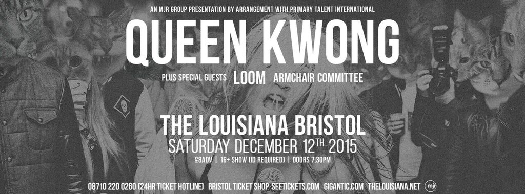 Queen Kwong (featuring Wes Borland)