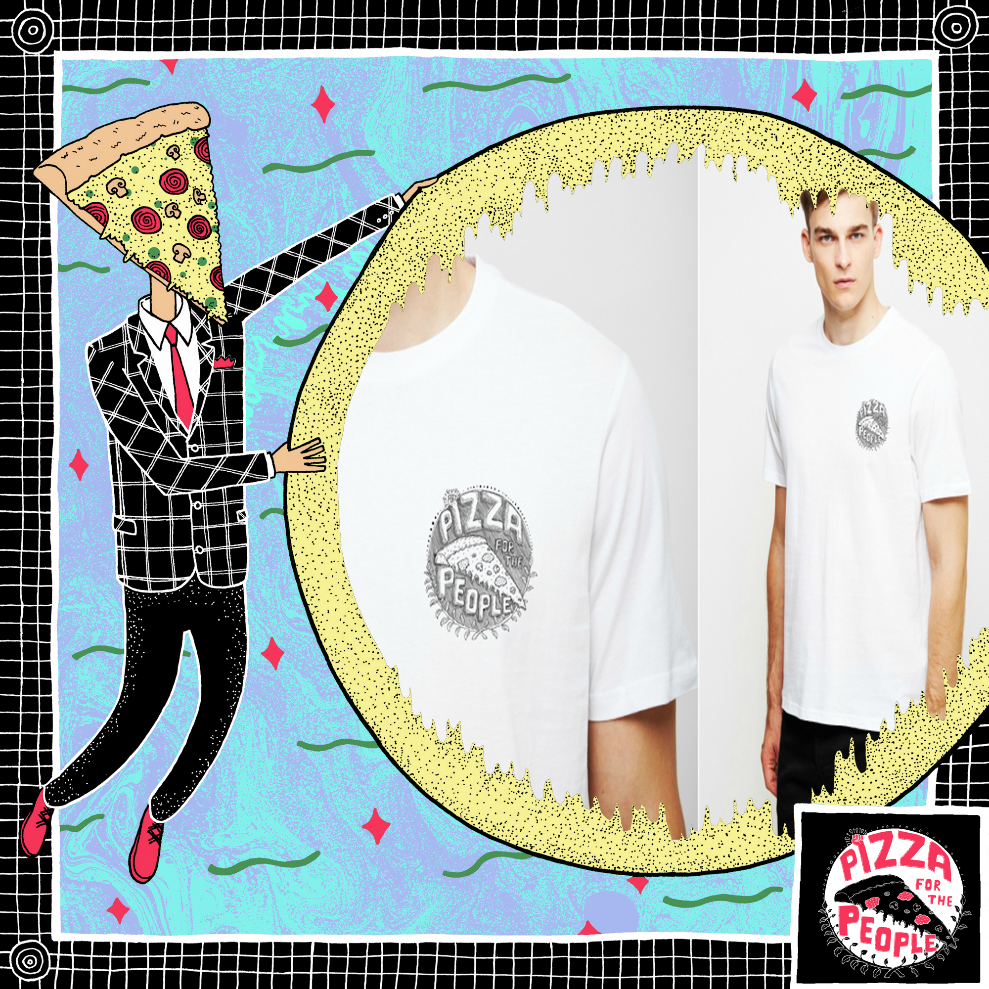 PFTP Logo Tee (SOLD OUT) - Pizza For The People