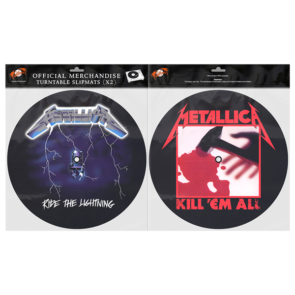 RTL / KEA – Slipmat Set - Metallica