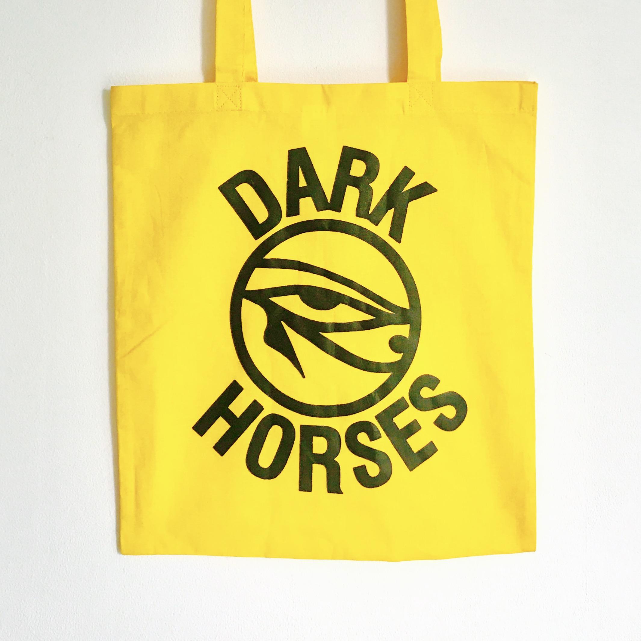 Dark Horses tote bag - Dark Horses
