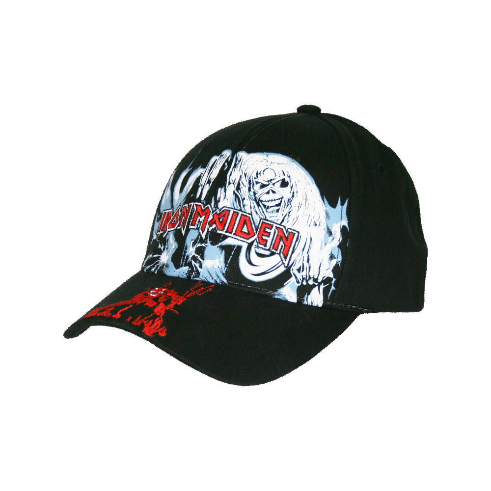 Number of the Beast Flexfit Hat - Iron Maiden [Global USA]