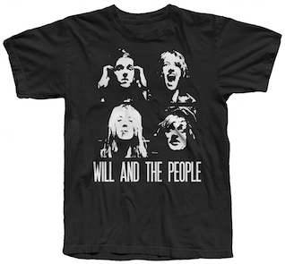 NEW 4 Faces T-Shirt - Will and The People