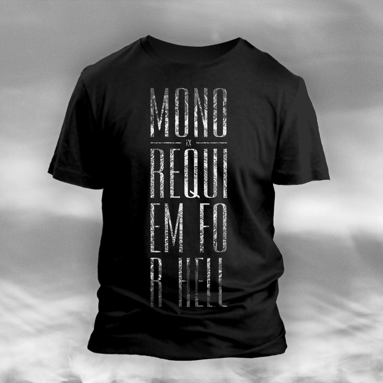 MONO - 'IX Requiem For Hell' Black T-Shirt - MONO