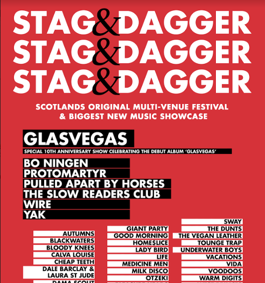stag dagger at the art school glasgow on 06 may 2018