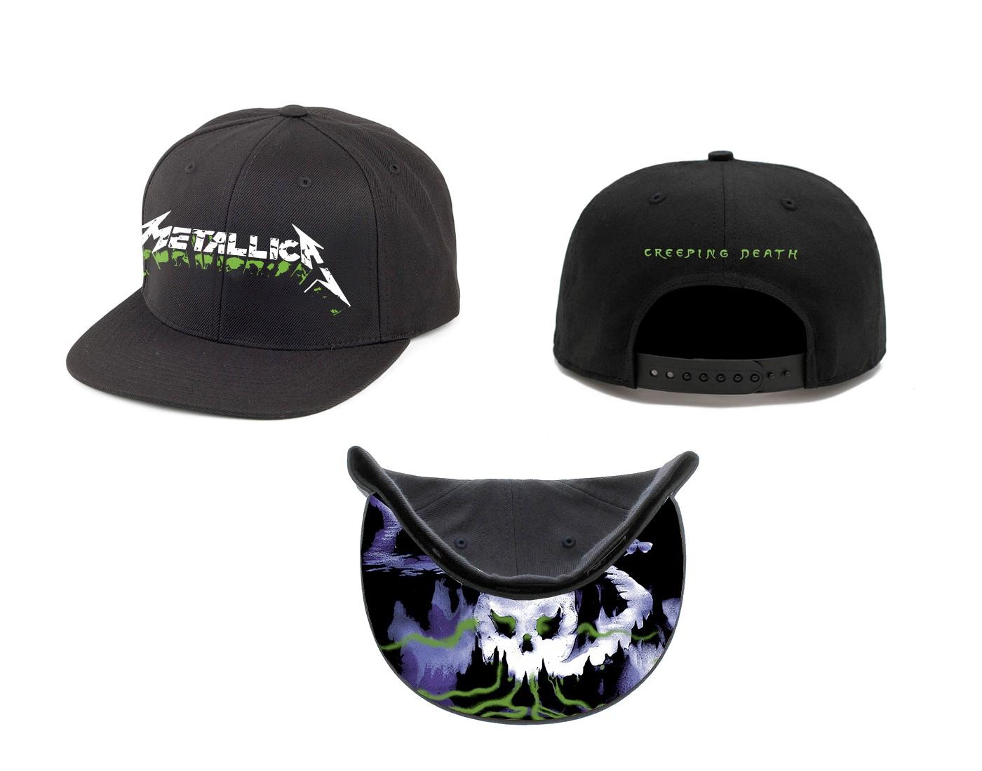 Creeping Death Snapback Cap - Metallica