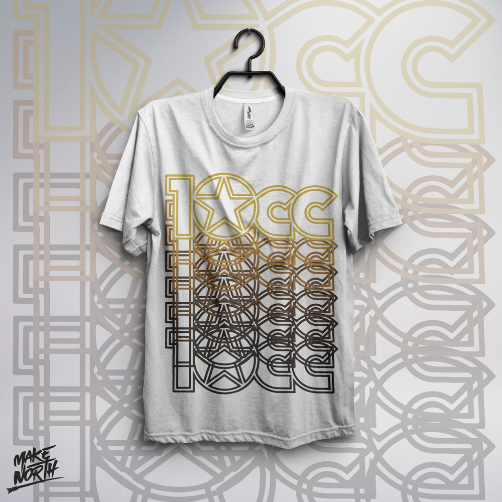 Logo T-Shirt (WHITE) - 10CC