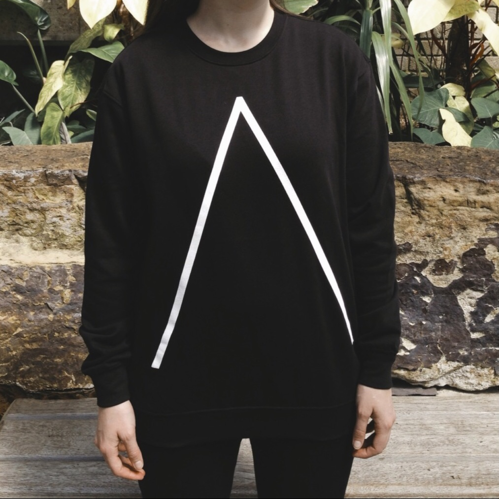 'Λ' Sweatshirt [Black] - Alpines
