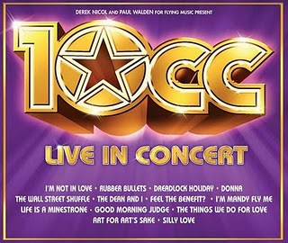 Live in Concert 2011 CD - 10CC