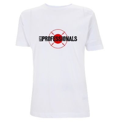 Target Logo - Mens White - The Professionals