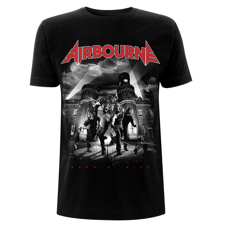 Airbourne Runnin' Wild – T-Shirt - Airbourne