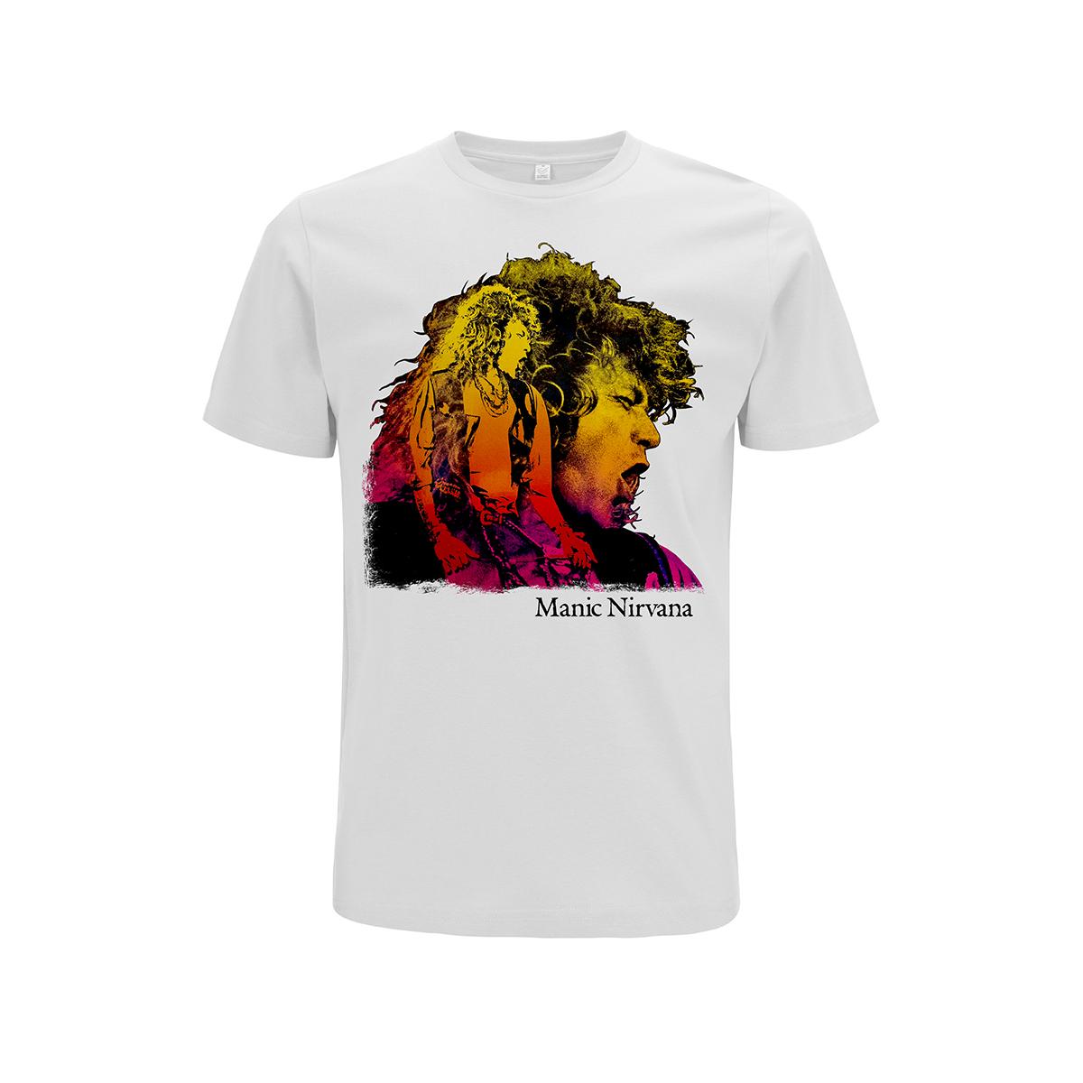 Manic Nirvana Tour – White Tee - Robert Plant