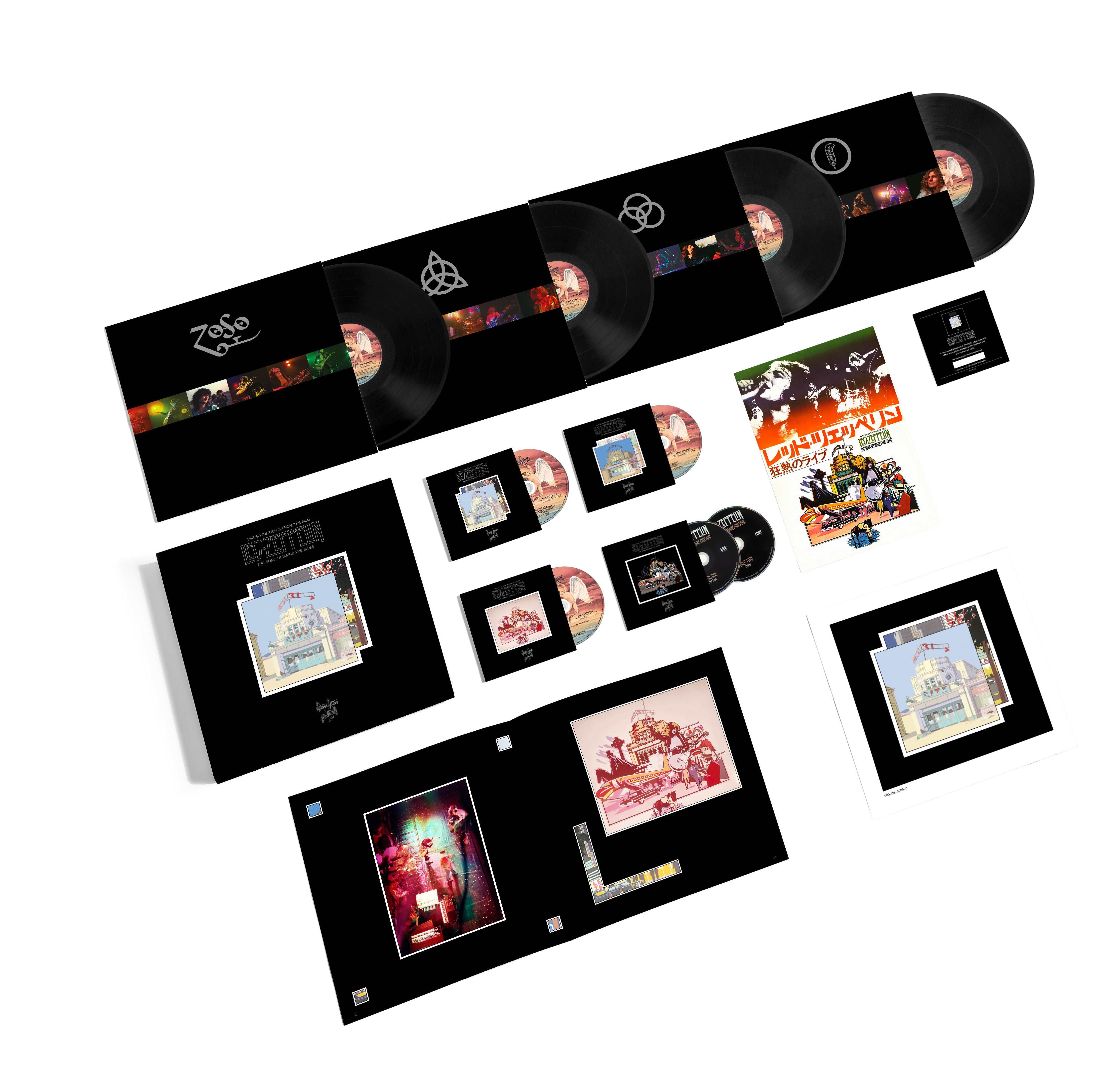 The Song Remains The Same – Super Deluxe Box Set - Led Zeppelin US