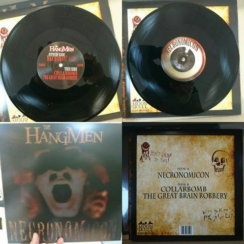 "Necronomicon 10"" Vinyl EP - The Hangmen"