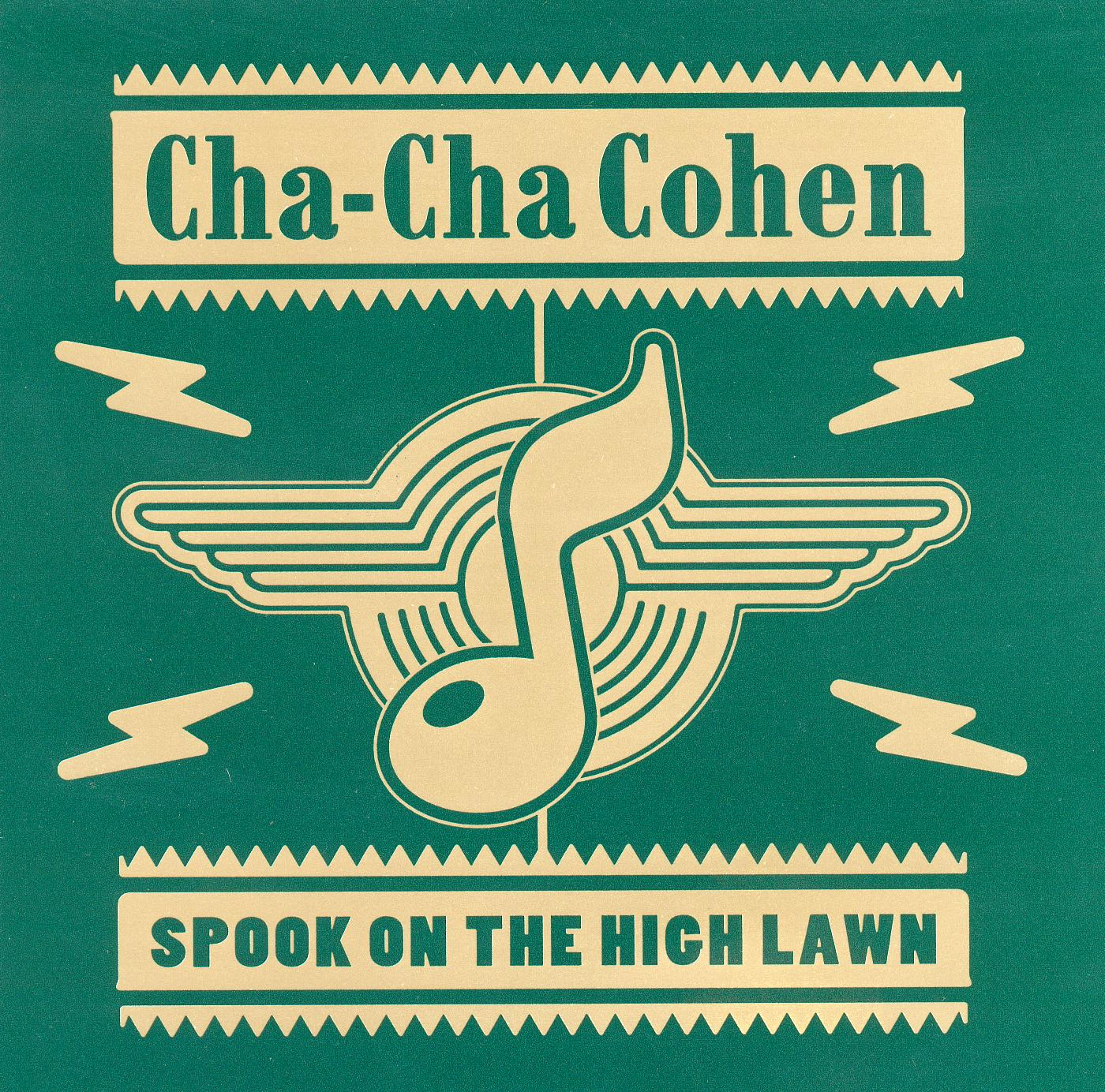 Cha Cha Cohen - Spook On The High Lawn - CD EP (1997) - Cha Cha Cohen