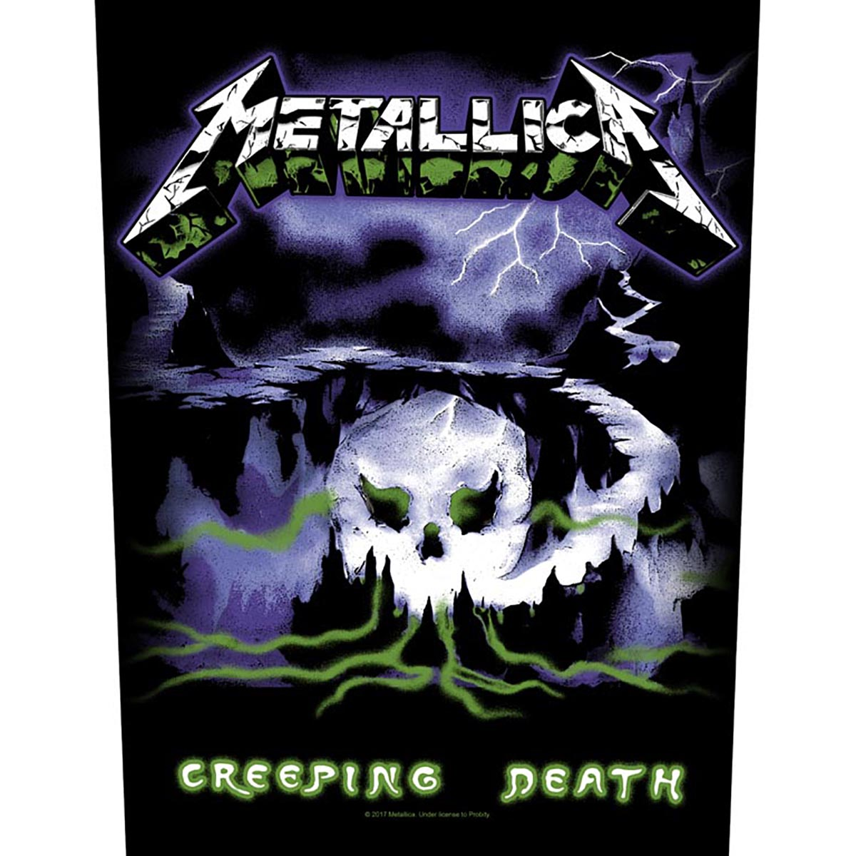 Creeping Death – Back Patch - Metallica