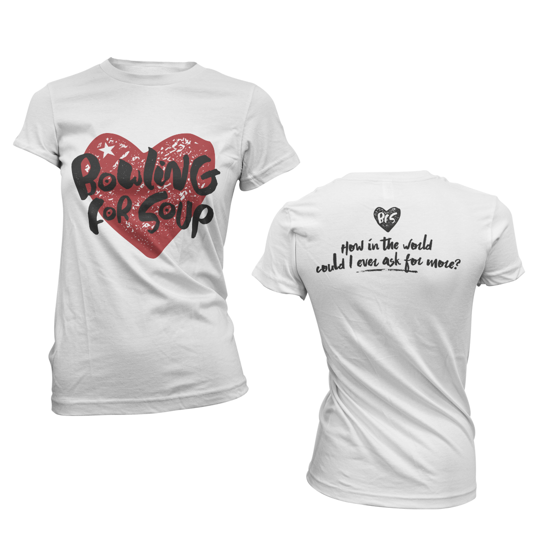 Heart – Girls Tee - Bowling For Soup