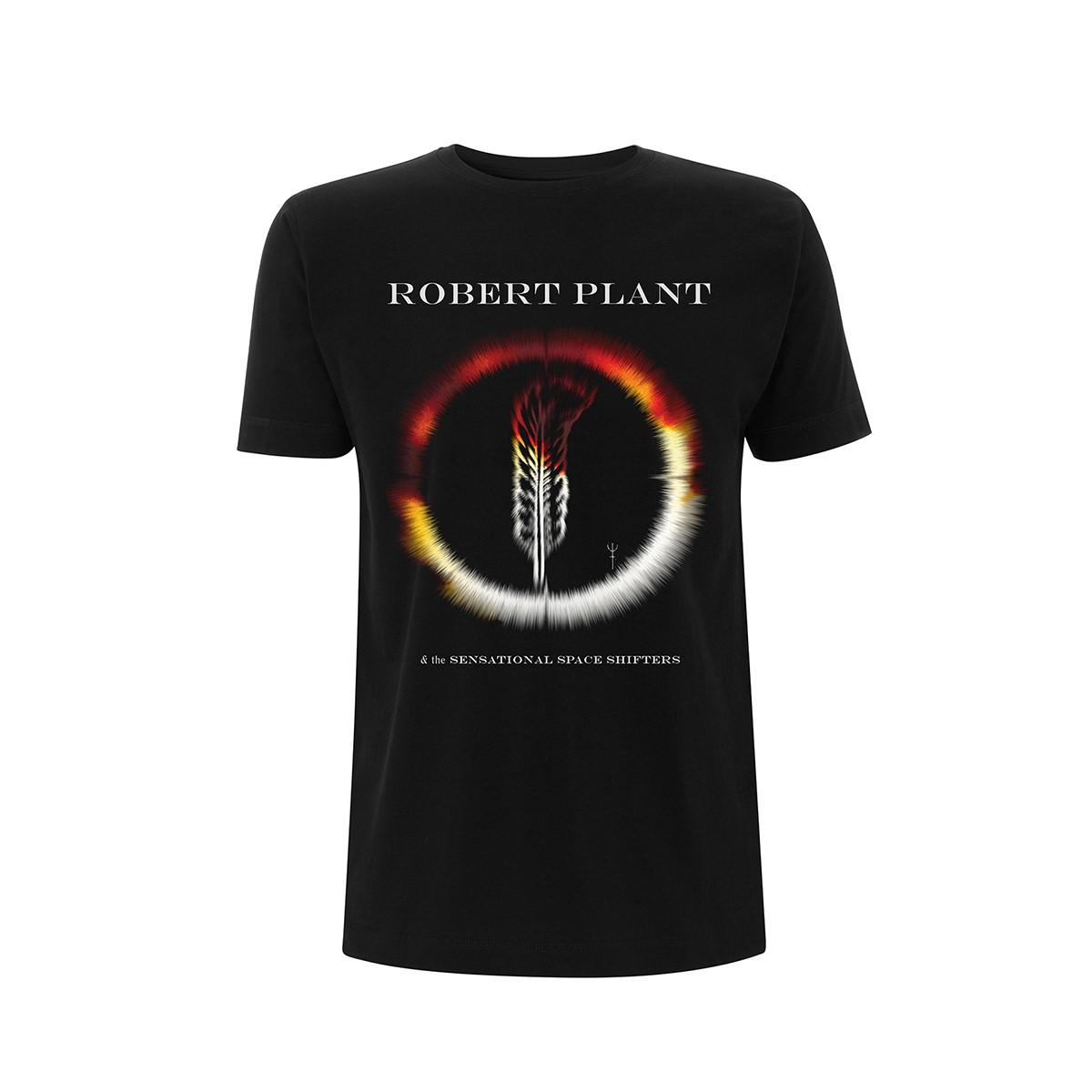 Carry Fire US September Tour Dates - Tee - Robert Plant