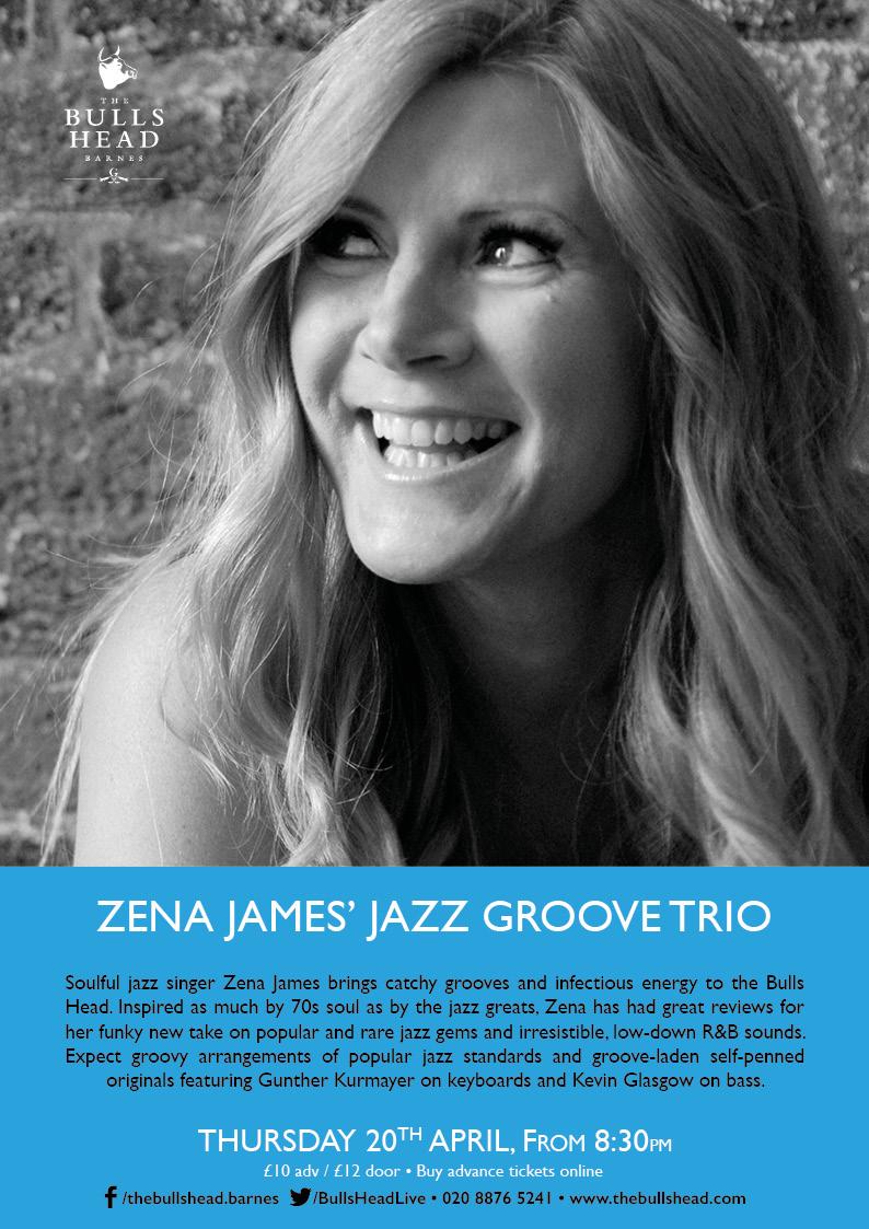 Zena James' Jazz Groove Trio