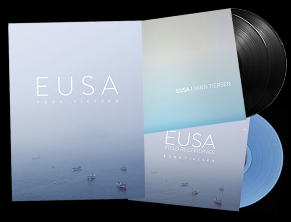 EUSA: Album + Piano Book + Field Recordings LP bundle - Yann Tiersen US