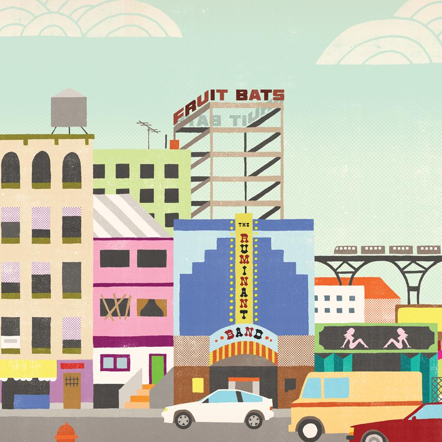 The Ruminant Band (Vinyl) - Fruit Bats