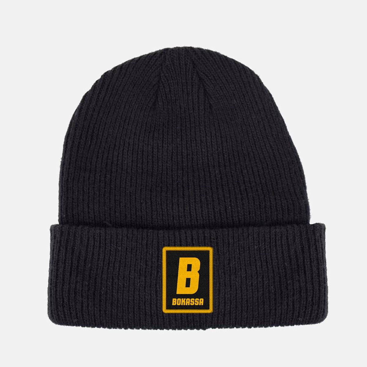 Gold B Patch – Beanie - Bokassa