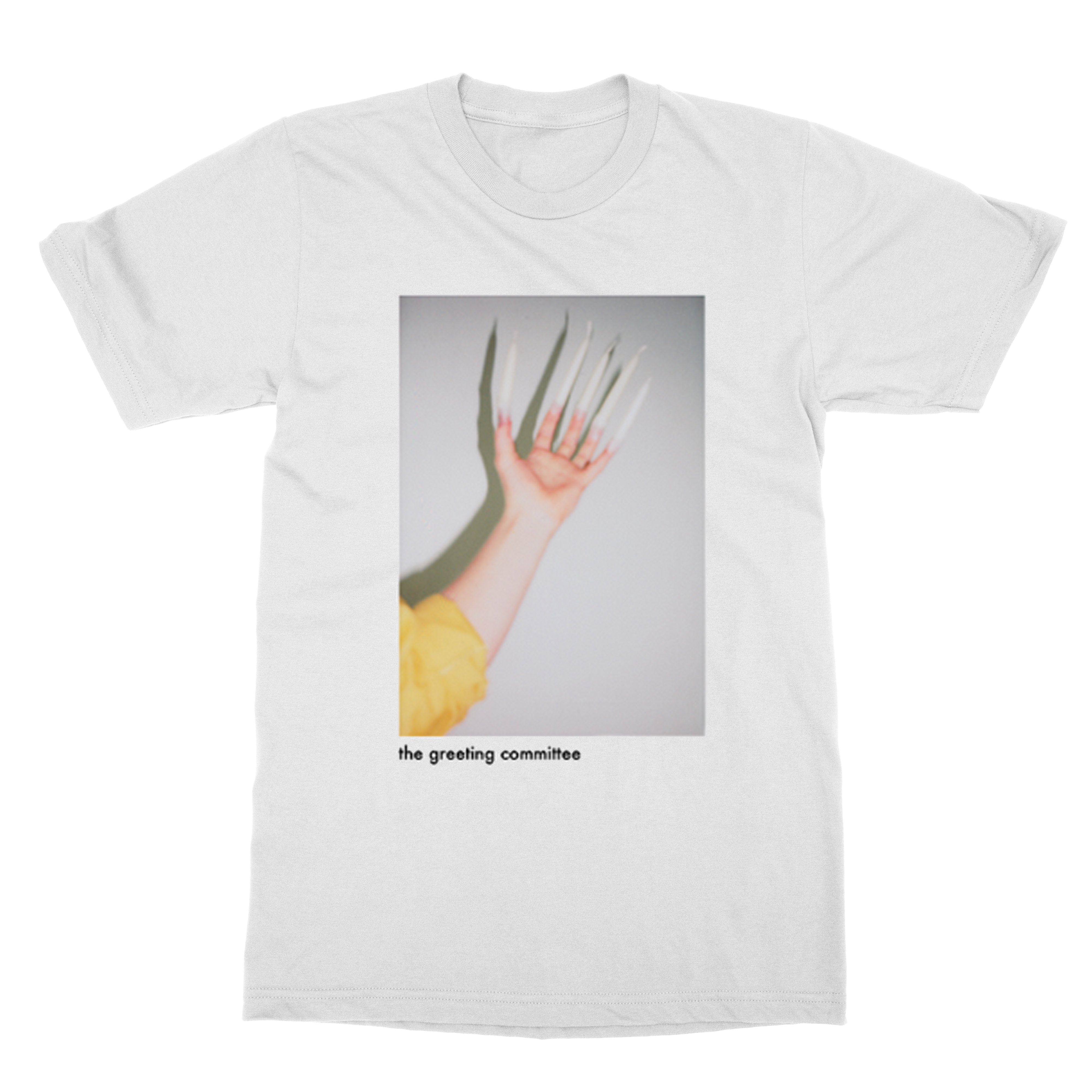 Hand T-shirt - White - The Greeting Committee