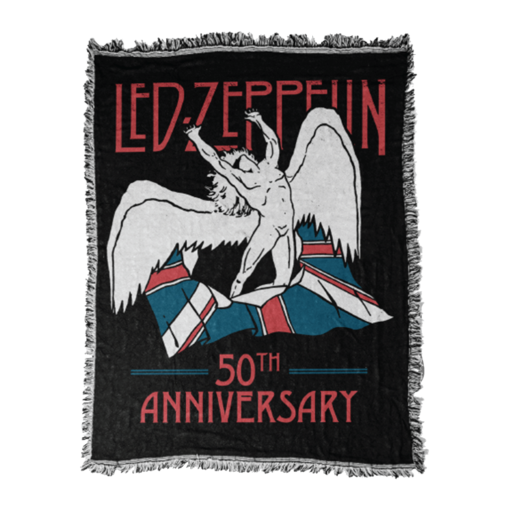Led Zeppelin - 50th Anniversary Blanket - Led Zeppelin US