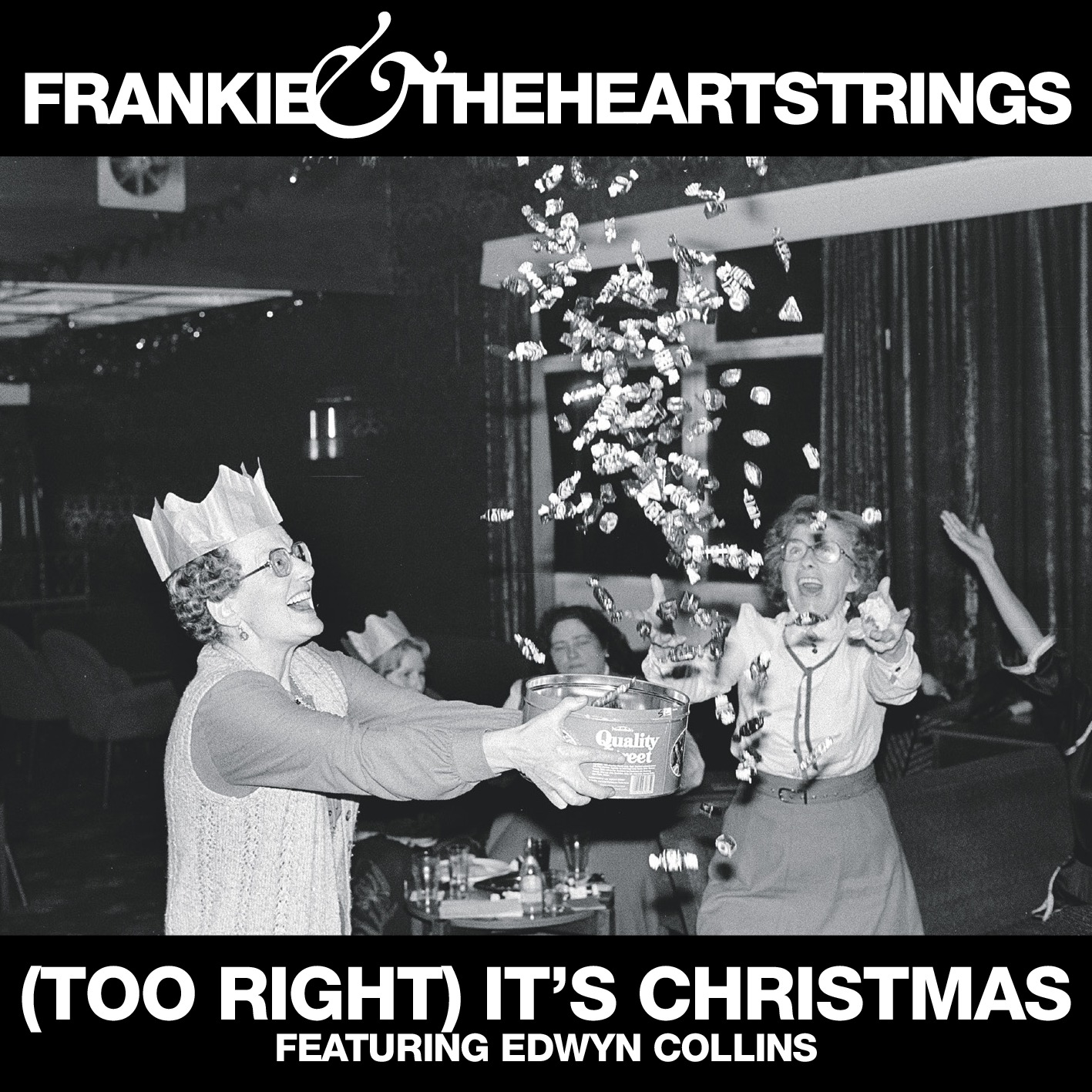 (Too Right) It's Christmas featuring Edwyn Collins - Frankie & The Heartstrings