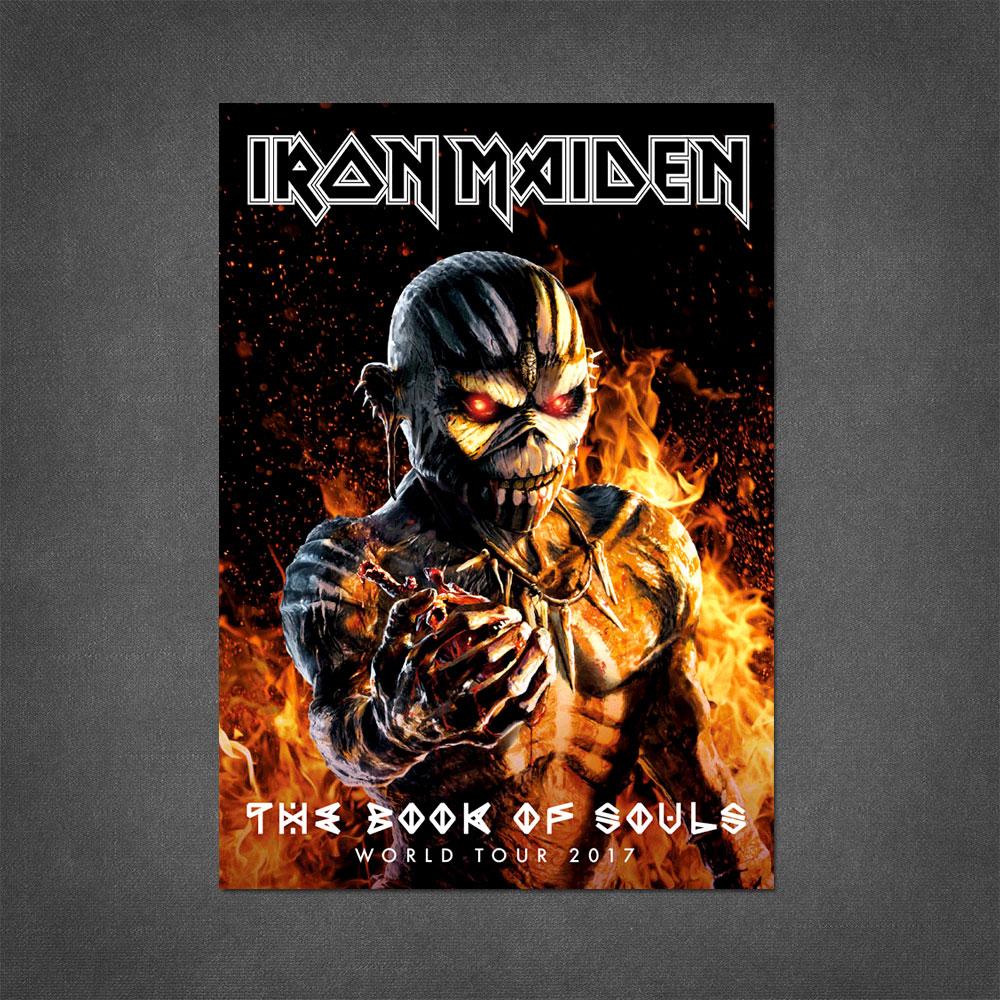 The Book Of Souls 2017 Tour Program - Iron Maiden [Global USA]