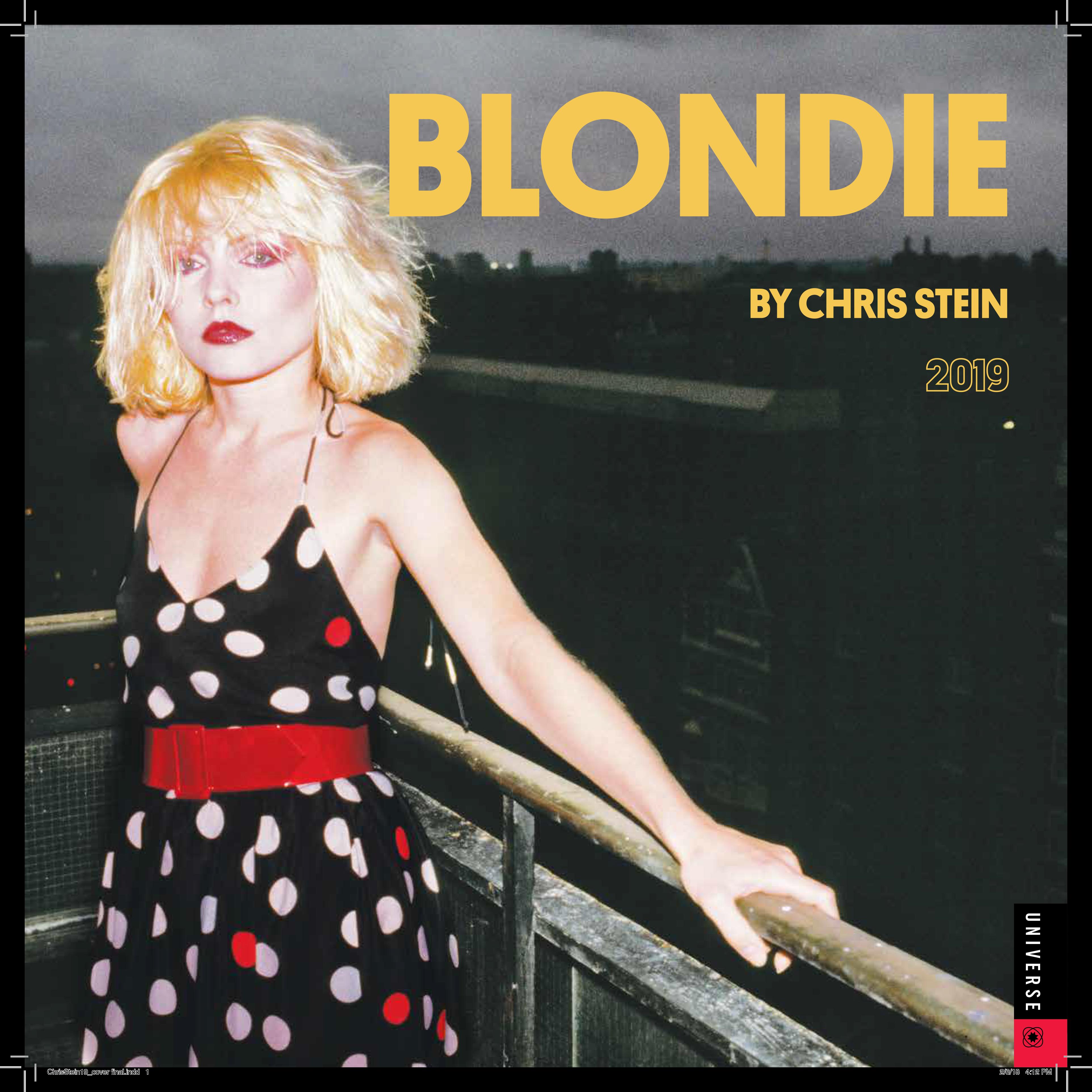 BY CHRIS STEIN CALENDAR 2019 - BlondieUS