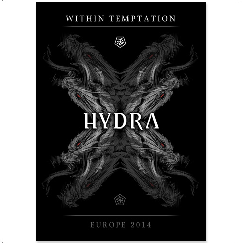 Hydra Tour Collectors Screenprint - Within Temptation