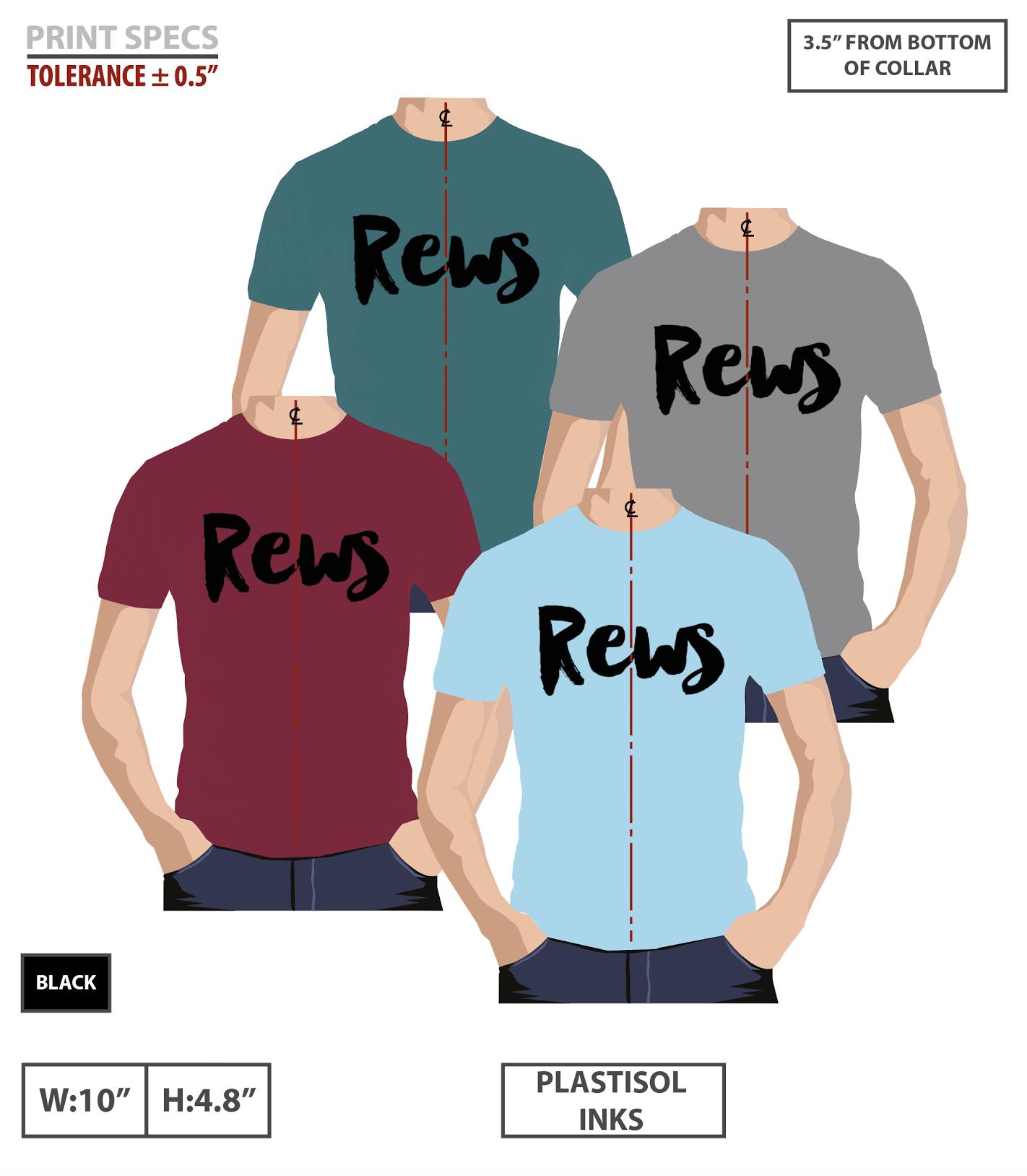 Original REWS T-shirt - REWS