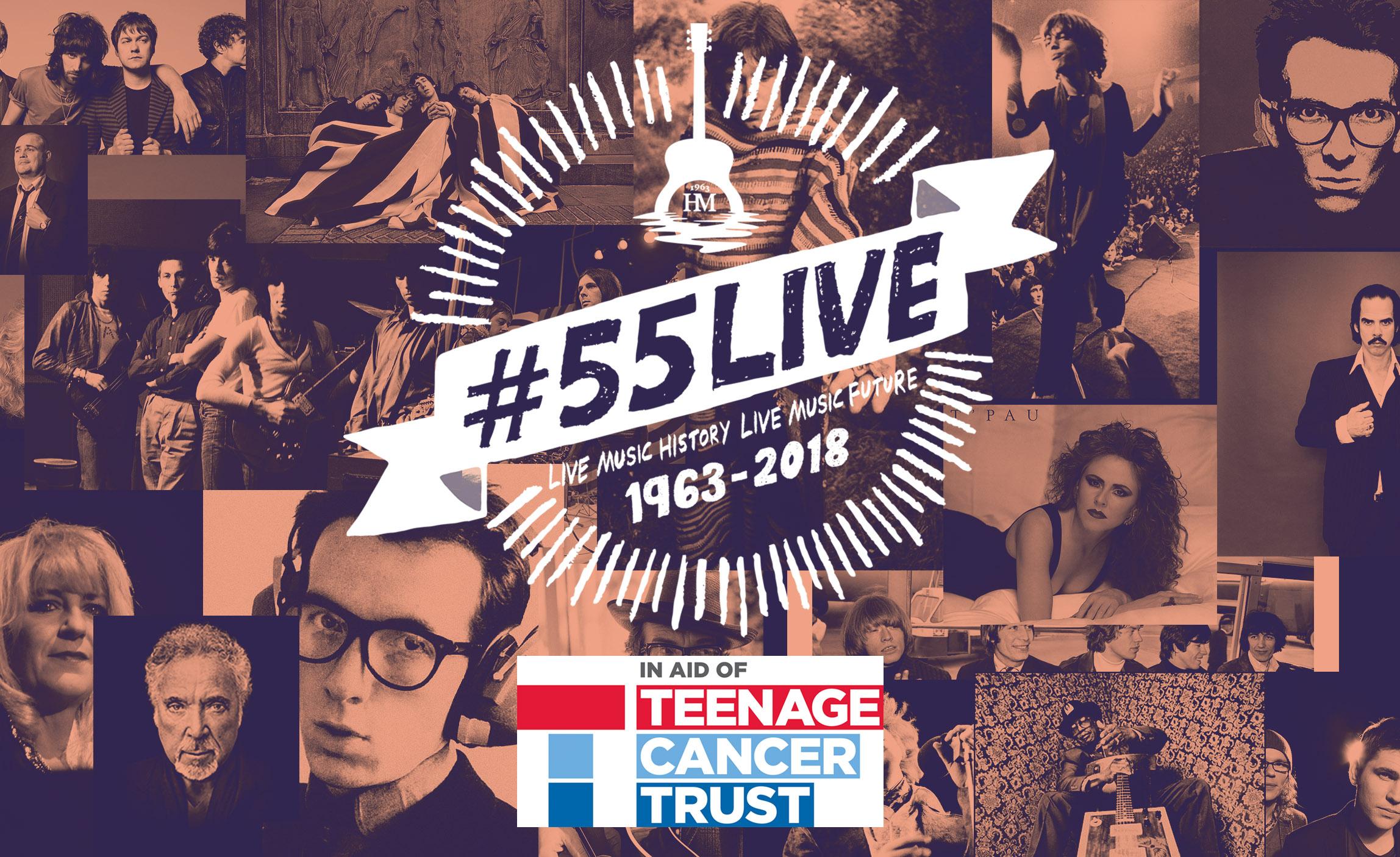 Teenage Cancer Trust Donation - 55LIVE - The Half Moon Putney