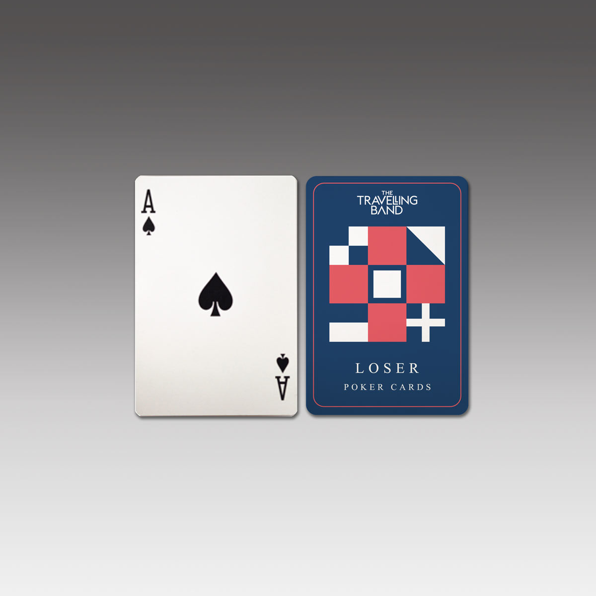 """""""Loser"""" Playing Cards - The Travelling Band"""