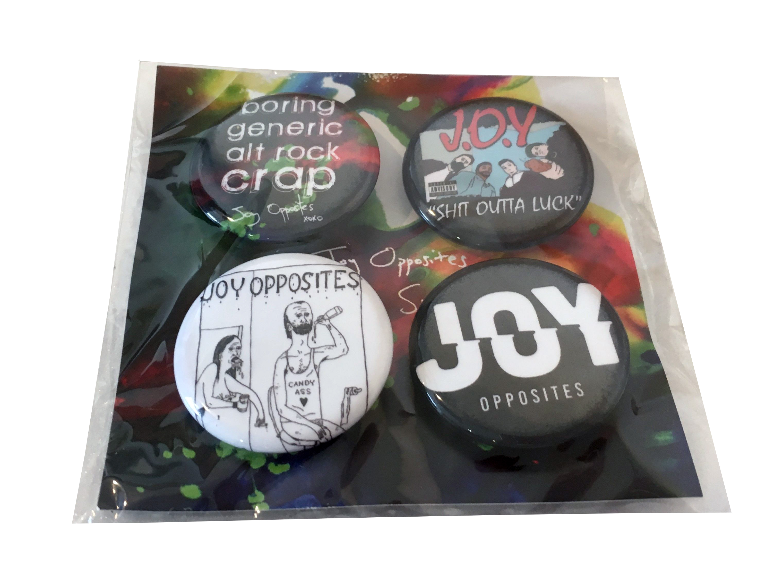 Badge Set - Joy Opposites