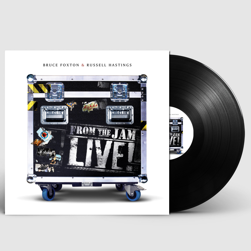 """From The Jam - Live! (Signed 12"""" Black Vinyl) - From The Jam"""