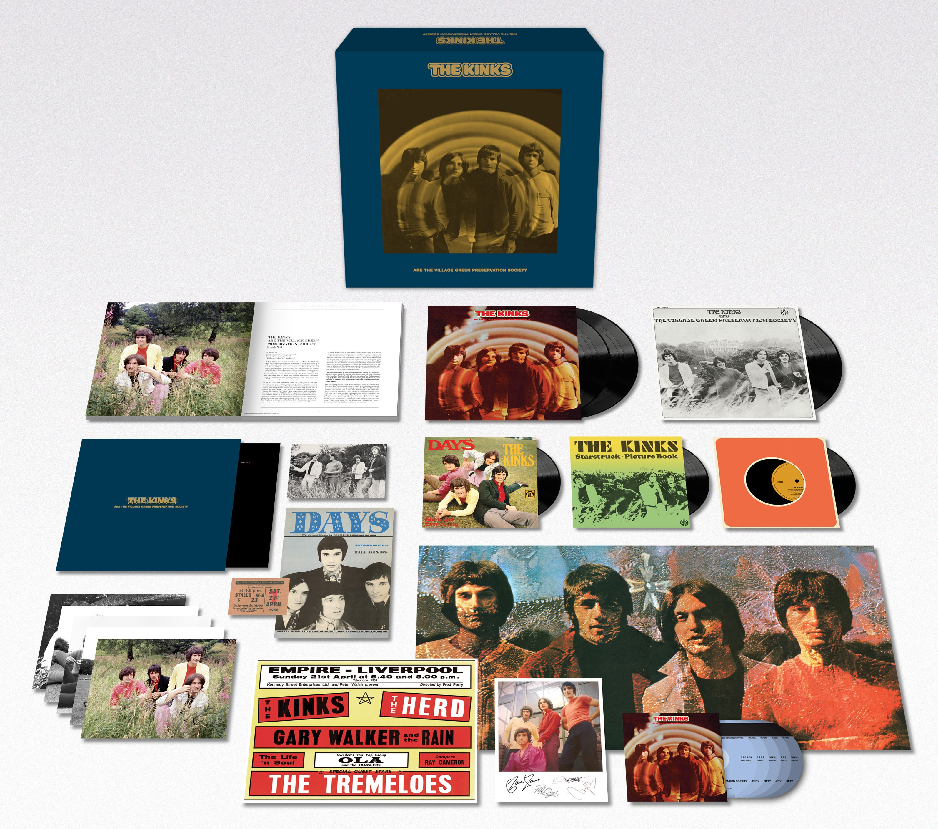 The Kinks Are The Village Green Preservation Society [SUPER DELUXE BOX SET] - The Kinks (USA)