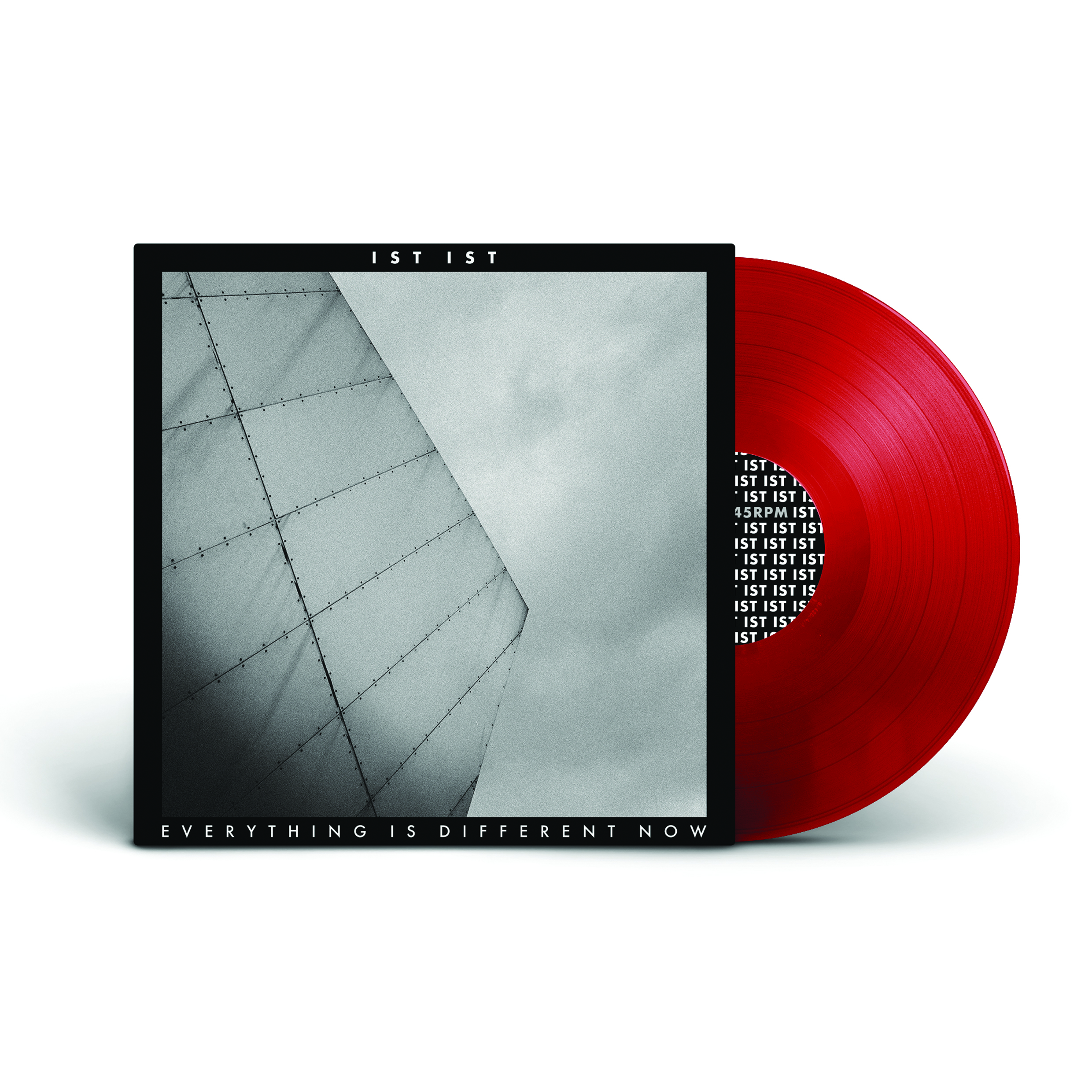 "Everything Is Different Now EP - 12"" Vinyl - Red - IST IST"