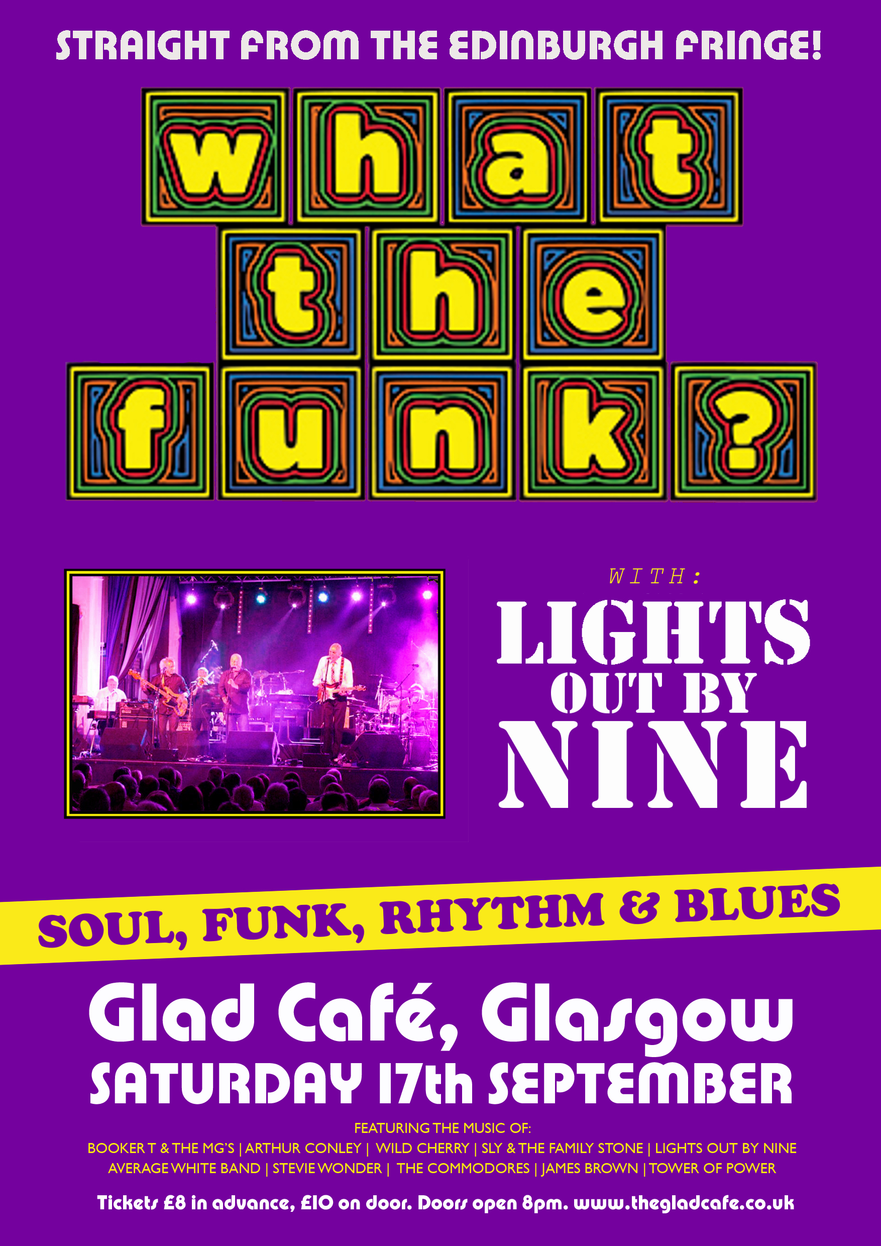 What The Funk? with Lights Out By Nine - Straight From the Edinburgh Fringe