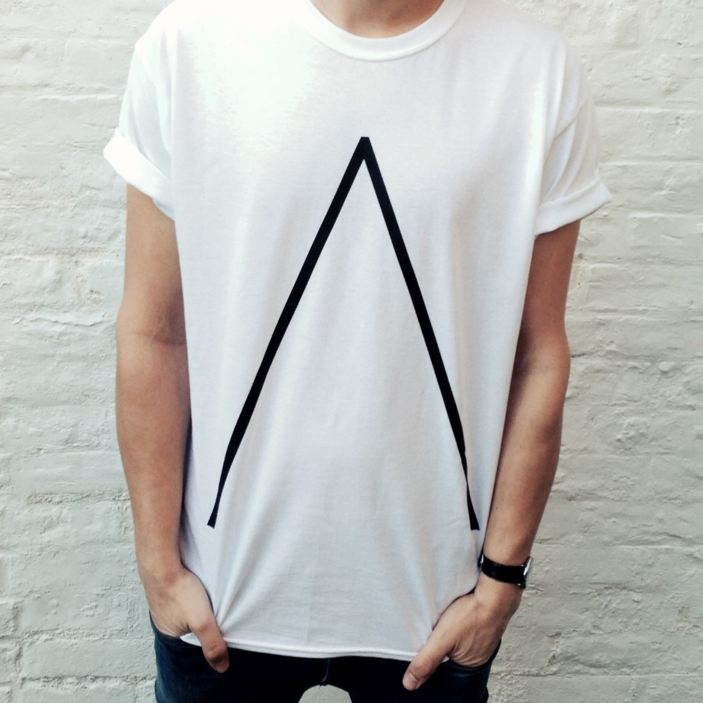 'Λ' T-Shirt [White] - Alpines