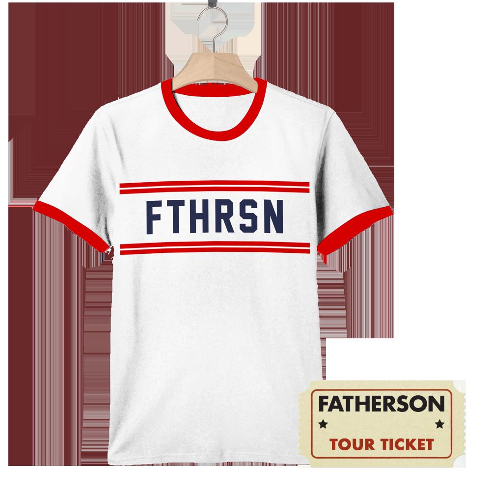 FTHRSN T-shirt + Tour Ticket - Fatherson