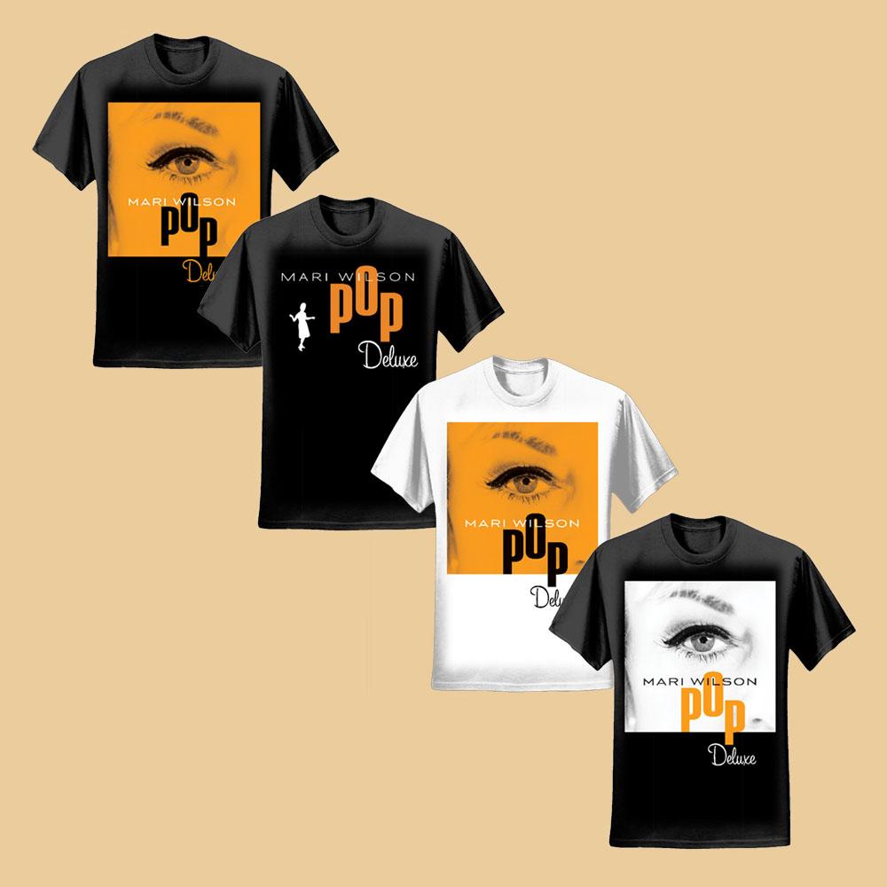 Pop Deluxe T-Shirts - Mari Wilson